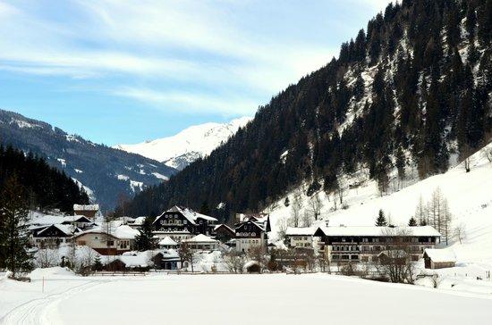 Hoteldorf Grüner Baum: Горная долина