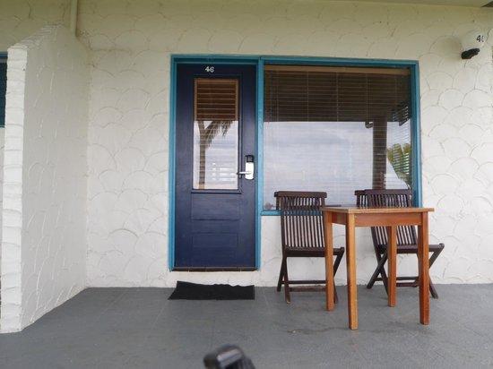 Fiji Hideaway Resort & Spa: front of room