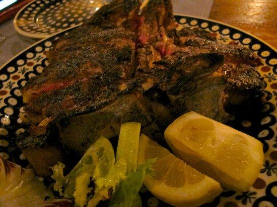 Trattoria dei 13 Gobbi : Steak