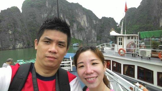 Rising Dragon Legend Hotel : Ha Long Bay