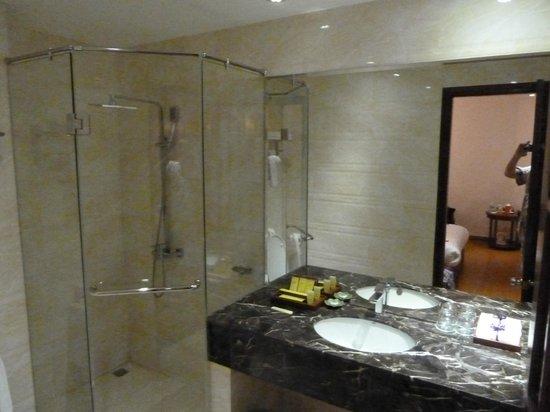 Aranya Hotel : Ванная комната.