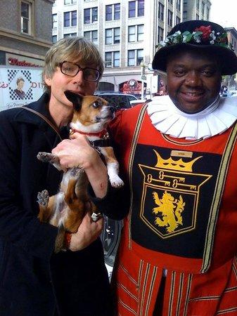 Kimpton Sir Francis Drake Hotel : My dog, Harry, loves the Sir Francis Drake!