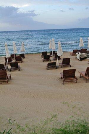 Atlantica Kalliston  Resort & Spa: Hotels's beach