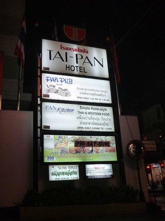 Tai-Pan Hotel: exit
