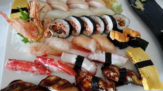 Bluefin Fine Japanese Cuisine: Another Sushi plate