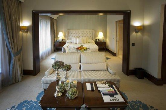 Kempinski Hotel Frankfurt Gravenbruch: Presidential Suite Livingroom Seating Area