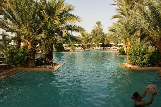 Club Med Marrakech La Palmeraie : Grande piscine