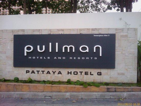 Pullman Pattaya Hotel G: Отель