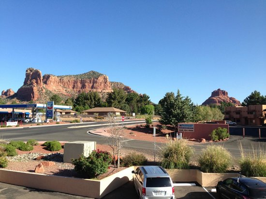 Days Inn Kokopelli Sedona: 2Fからの風景(北側)