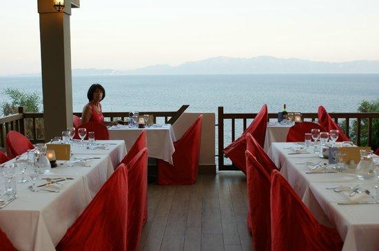 Club Med Bodrum Palmiye : Repas vue sur baie