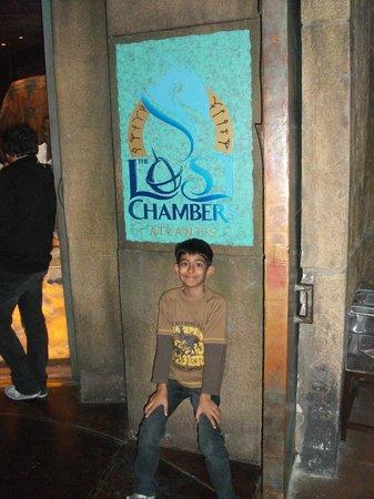 The Lost Chambers Aquarium: Entrance