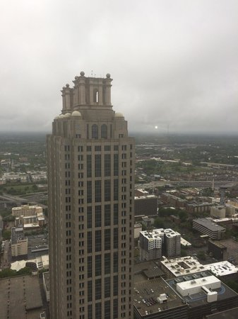 The Westin Peachtree Plaza: View from Sundial