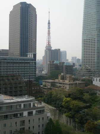 Ana Intercontinental Tokyo: 部屋からの景色