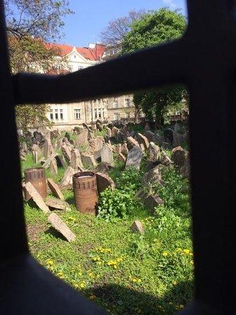 World War II in Prague Tour: The gravestones