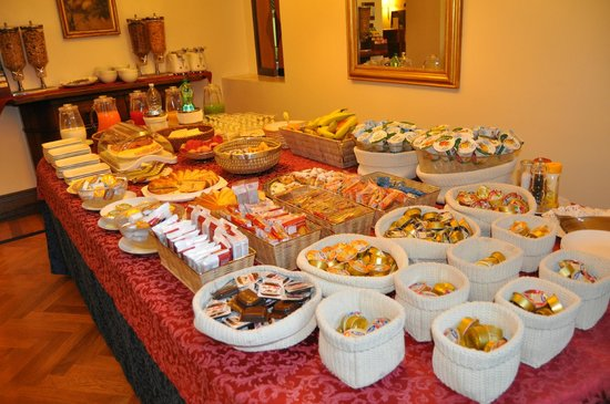 Relais 6: The great selection of the breakfast buffet