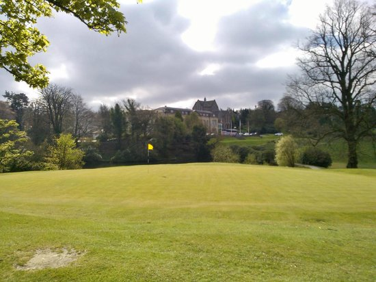Shrigley Hall Hotel, Golf & Country Club: View over golf course back to Hotel