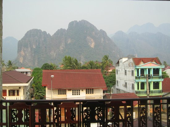 Maylay Guesthouse: View From Balcony