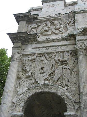 Arc de triomphe : Orange détails 5