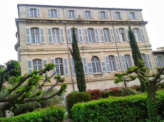 Chateau de Mazan : The main facade