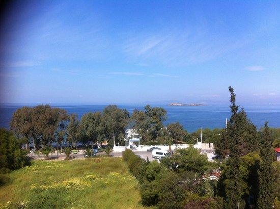Amarilia Hotel: Vue du balcon