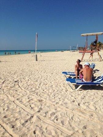 Viva Wyndham Azteca : Spiaggia dell'albergo