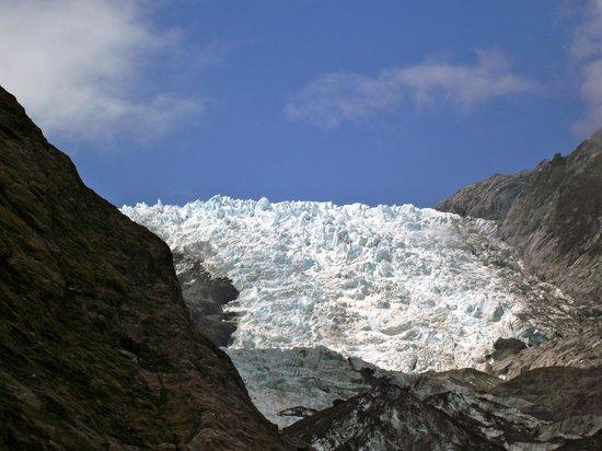 Franz Josef Glacier : view f Franz Josef