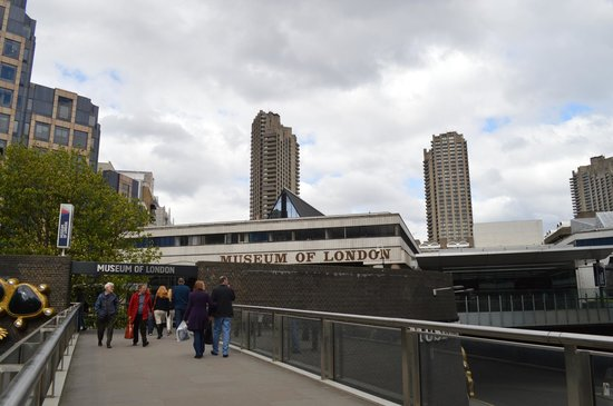 Museum of London : Museum 's frontage
