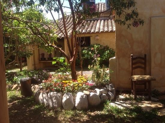 Posada del Abuelito: patio