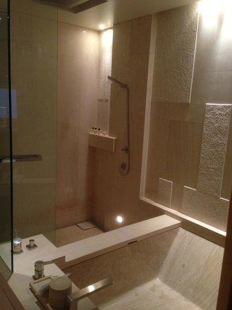 Park Hyatt Beijing: Awesome shower and tub in room