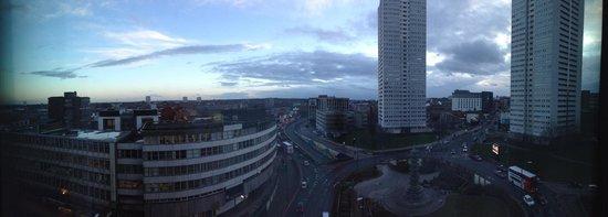 Radisson Blu Hotel, Birmingham: View from my 7th floor room