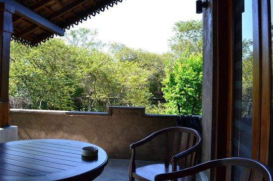 Forest Rock Garden Resort : outside the room