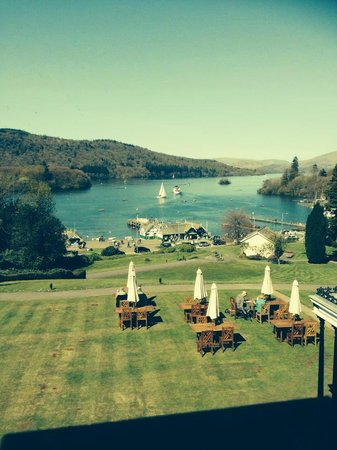 Laura Ashley Hotel The Belsfield: stunning view from room
