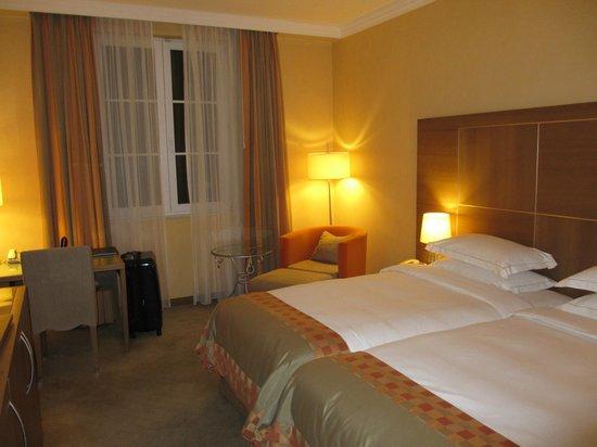 Hilton Imperial Dubrovnik: 山側の部屋でしたが
