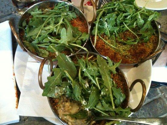 Jimmys Bar Restaurant Ricotta Gnocchi With A Vegetable Cream Sauce And Cauliflower Jerusalem