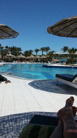 Giftun Azur Resort: Zwembad