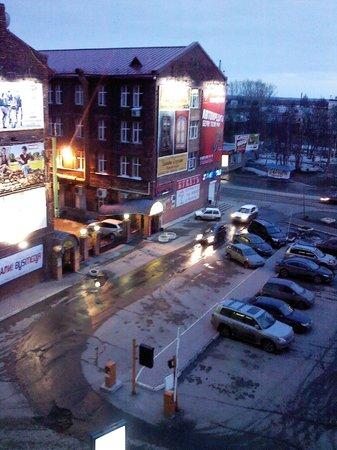 Dvina Hotel: Вид на Троицкий проспект из окна номера