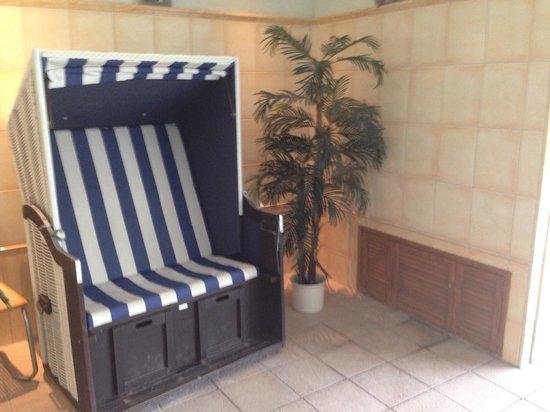 Park Hotel: Pool lounge