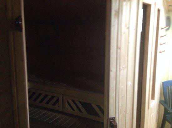 Park Hotel: Sauna night open on request