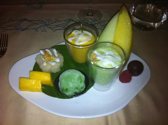Blue Jade : My special dessert selection