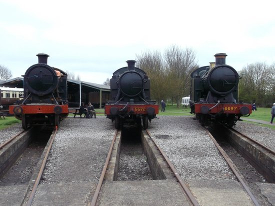 Didcot Railway Centre: Just a few of the many engines on display