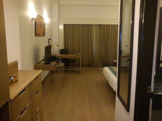 Lemon Tree Hotel, East Delhi Mall, Kaushambi: View from entrance of the room