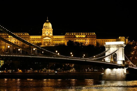 Sofitel Budapest Chain Bridge: This view just a couple of steps outside the hotel