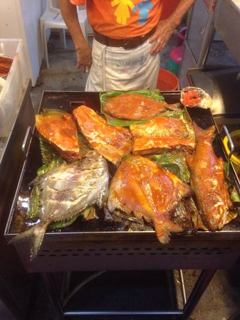 I Love You, Cafe Batu Ferringhi: Ikan Bakar