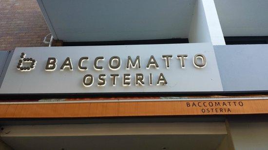 Cambridge Hotel Sydney: Baccomatto Osteria Italian Restaurant