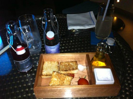 La Baie Lounge : Innovative drink service