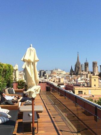 Hotel 1898 : Terrasse Panoramique