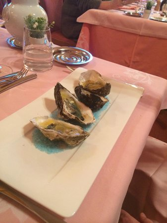 Hotel Le Gentiana: Oysters :-)