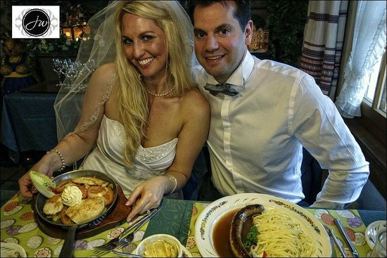 Restaurant Laterne: Bride and Groom visit