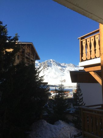 Hotel Le Gentiana : Morning view from the hotel