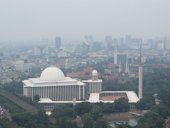 National Monument (MONAS) : View from top of Tower